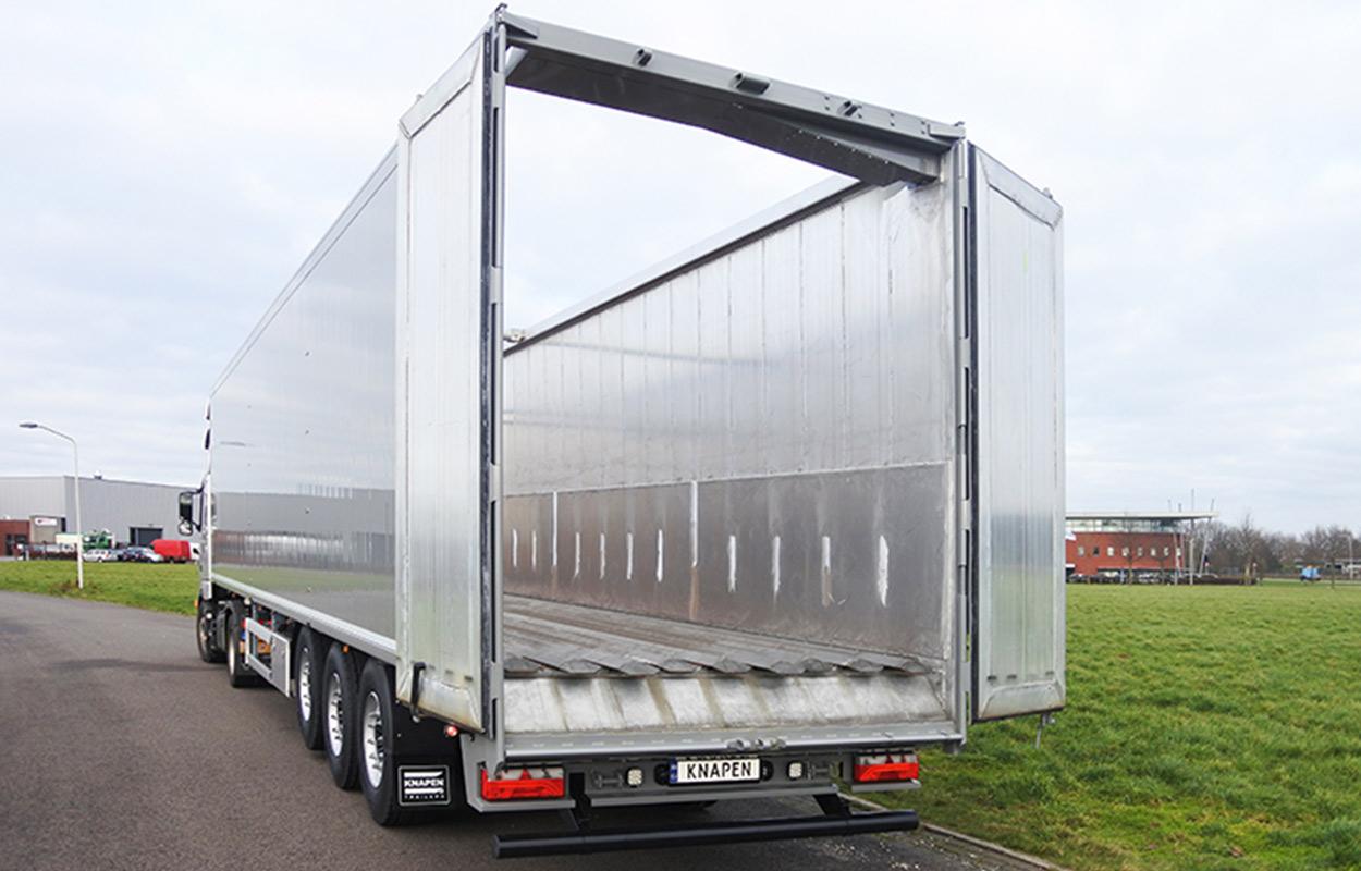 Vrachtwagen met walking floor