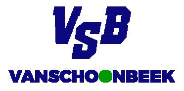 Transport Vanschoonbeek logo 2020 blauw en groen